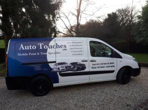 Autotouches Repair Van